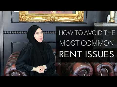 How to avoid the most common rent issues in UAE