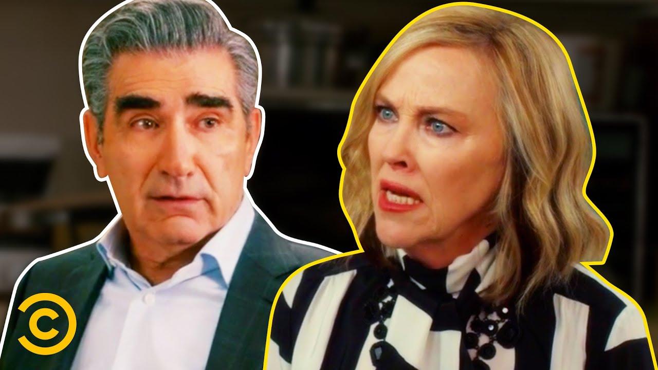 Johnny & Moira's Best Worst Parenting Moments - Schitt's Creek