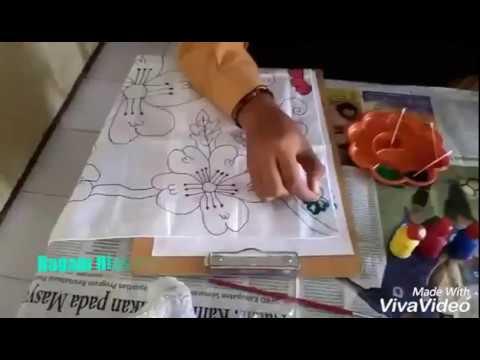 Ragam Hias Pada Bahan Tekstil Vii B Smp N 1 Talang 2017 2018 Youtube