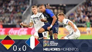 ALEMANHA 0 X 0 FRANÇA - MELHORES MOMENTOS - UEFA NATIONS LEAGUE - (06/09/2018)