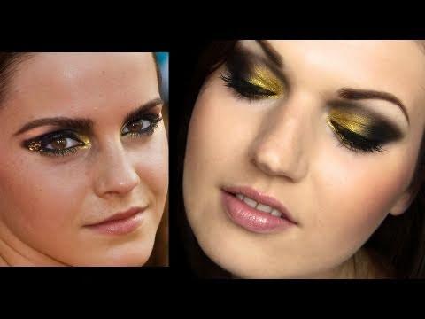 Emma Watson Harry Potter Premiere Makeup Tutorial - YouTube  Emma Watson Har...