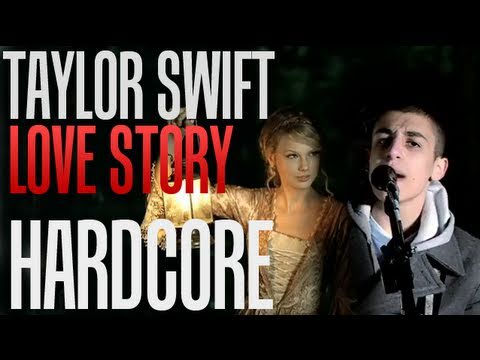 Love Story(Taylor Swift Hardcore Cover)- Amongst The Ruin- Official Music Video