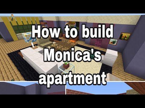 How to build Monica's apartment in Minecraft!! Part 1!! Friends