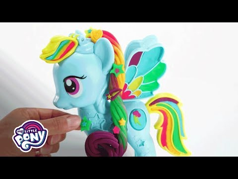 My Little Pony - 'MLP: Play-Doh Rainbow Dash Style Salon' Playset