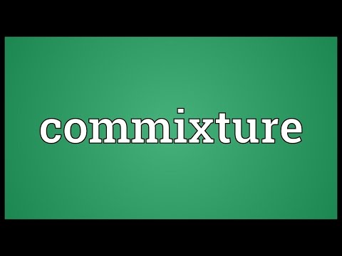 Header of commixture