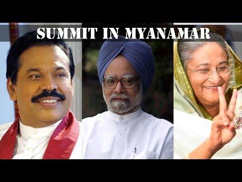 PM Manmohan Singh attends BIMSTEC meeting