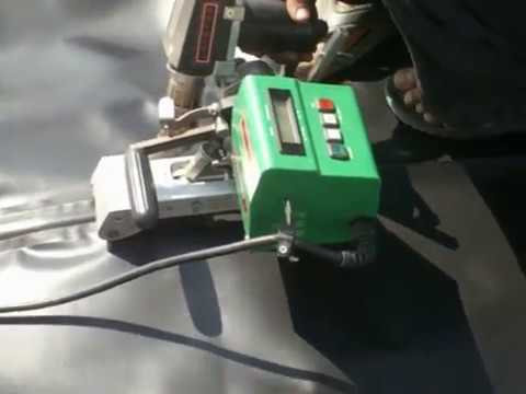 HDPE Sheet Joint Machine
