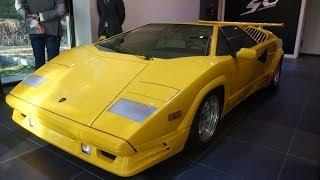 Lamborghini Countach+Aventador Roadster.Oбзор.Anton Avtoman.