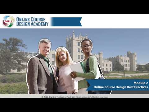 Module 2 Online Course Design Best Practices