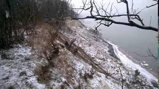 Укрепление песчаных берегов в Светлогорске.(, 2016-01-17T16:43:08.000Z)
