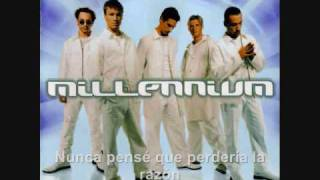 Backstreet boys Don´t wanna lose you now (subtitulada)