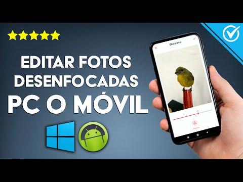 Cómo Arreglar y Editar Fotos Borrosas y Desenfocadas en PC Windows o Android