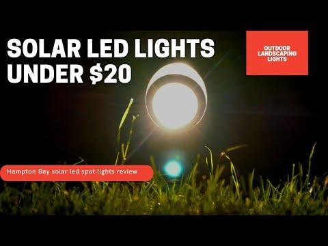 The best outdoor garden Solar lights – LED SPOT Lights (50 Lumens) – Landscaping lights