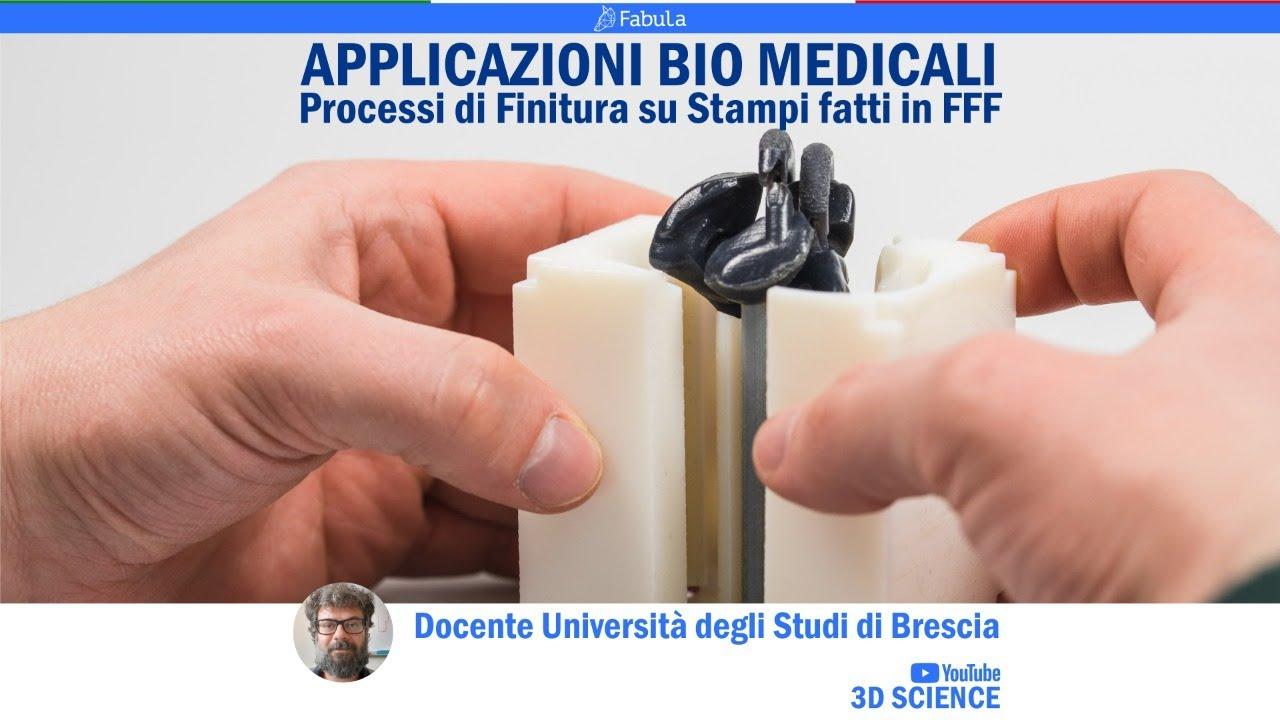 3DSCIENCE - Processi di finitura su Stampi prodotti in FFF per applicazioni biomedicali