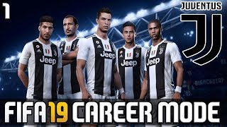 FIFA 19 JUVENTUS CAREER MODE #1 | THE START OF MINI SERIES | RONALDO VS BEST TEAMS (FIFA 19 Demo)