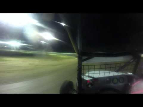 Brandon Denton at North Florida Speedway Practice Run