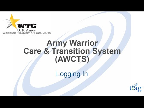 Login to AWCTS