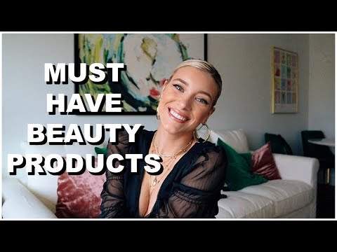 BEAUTY PRODUCTS YOU NEED! | Keaton Milburn