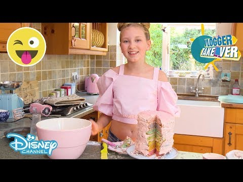 Vlogger Takeover | 7 Layer Cake Tutorial | Disney Channel UK