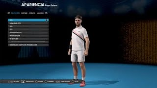 AO Internationale de Tennis (Ps4) -Comment avoir le PARFAIT Roger Federer-