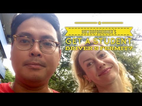 2017 How Do Foreigners Get A Student Permit LTO East Avenue Quezon City Manila Philippines