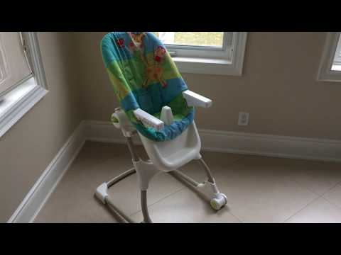 Fisher-Price EZ Clean High Chair Luv U Zoo