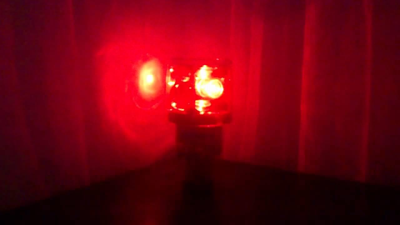 Solar Warning Signal Light Tower Crane Flashing Light