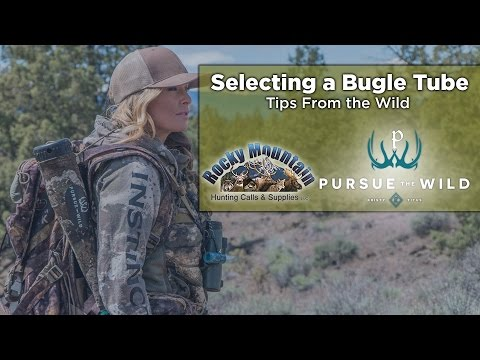 How To Select An Elk Bugle Tube with Kristy Titus- Elk Call Tips