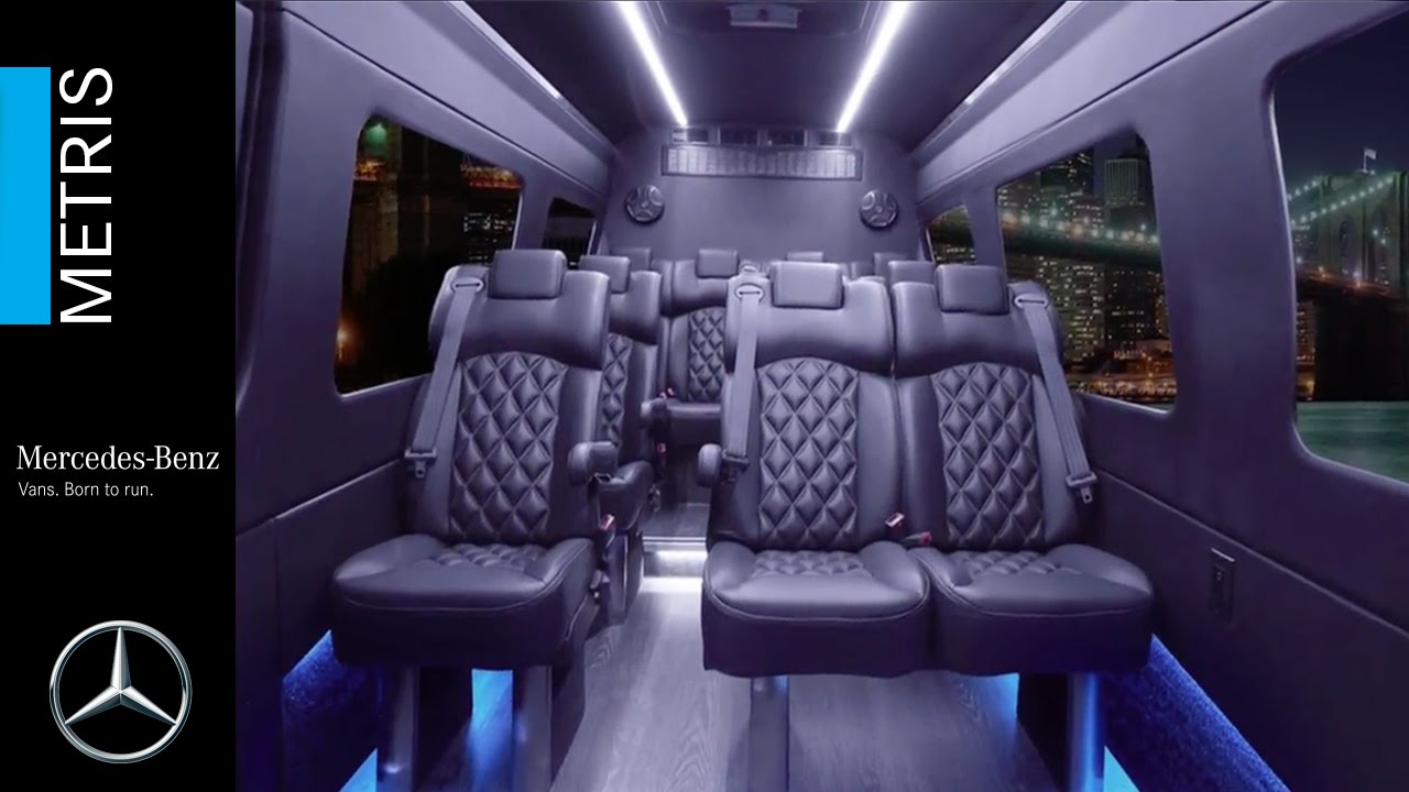 Mercedes-Benz Metris Concept Luxury Van - YouTube