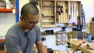 Wood: Art Design Architecture  |  John Quan Presents His Flexible Desk Lamp