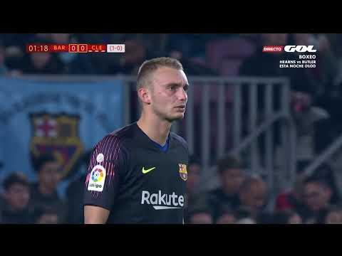 Season 2018/2019. FC Barcelona - Cultural Leonesa - 4:1 thumbnail