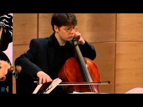 "Beethoven String Quartet No. 11 in F minor,  Op. 95, ""Serioso"" - Amphion Quartet (Live)"