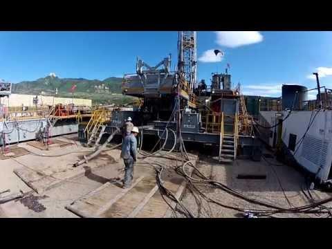Capstar Drilling Hydraulic Walking System