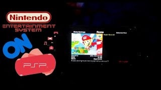 How to install and play NES games on PSP 2017