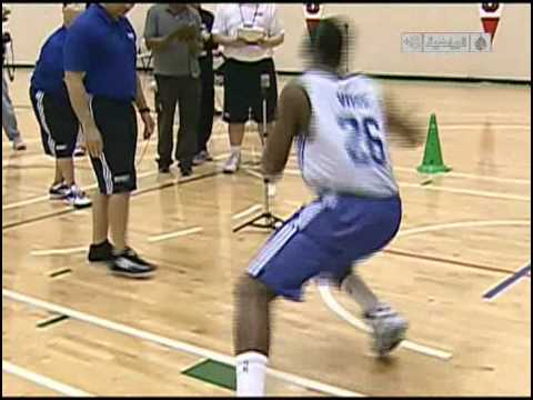 2010 NBA Draft Combine Testing with SMARTSPEED