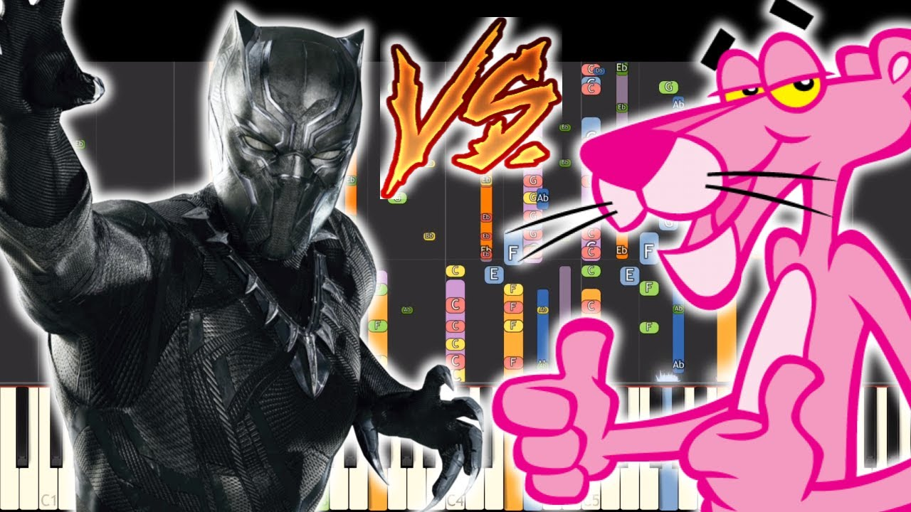 IMPOSSIBLE REMIX - Black Panther Vs. Pink Panther Theme