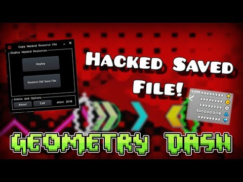 [Geometry Dash 2.1 And 2.11] Stars, Orbs, Coins, Unlock All - Hacked Save [All Versions]