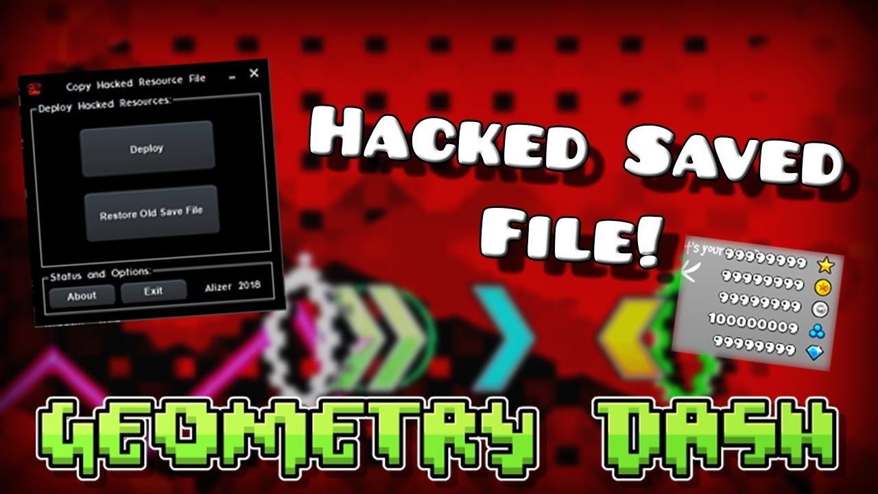 geometry dash hack on pc