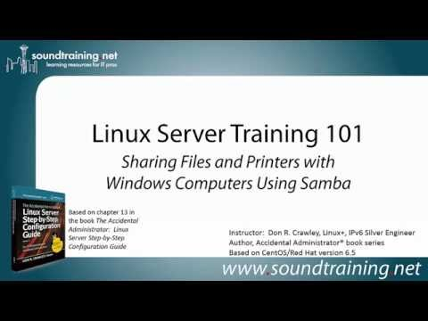How to Configure Samba for File Sharing with Windows: Linux Server Training 101