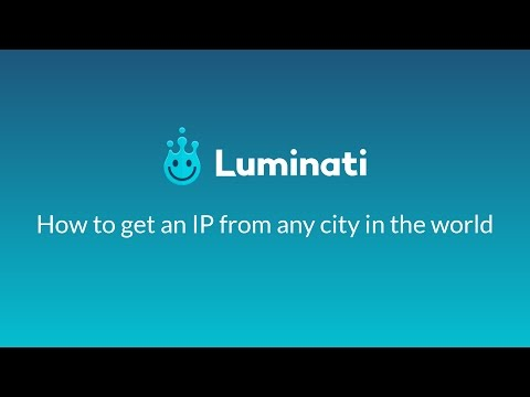 How to Get an IP from any City in the World - YouTube