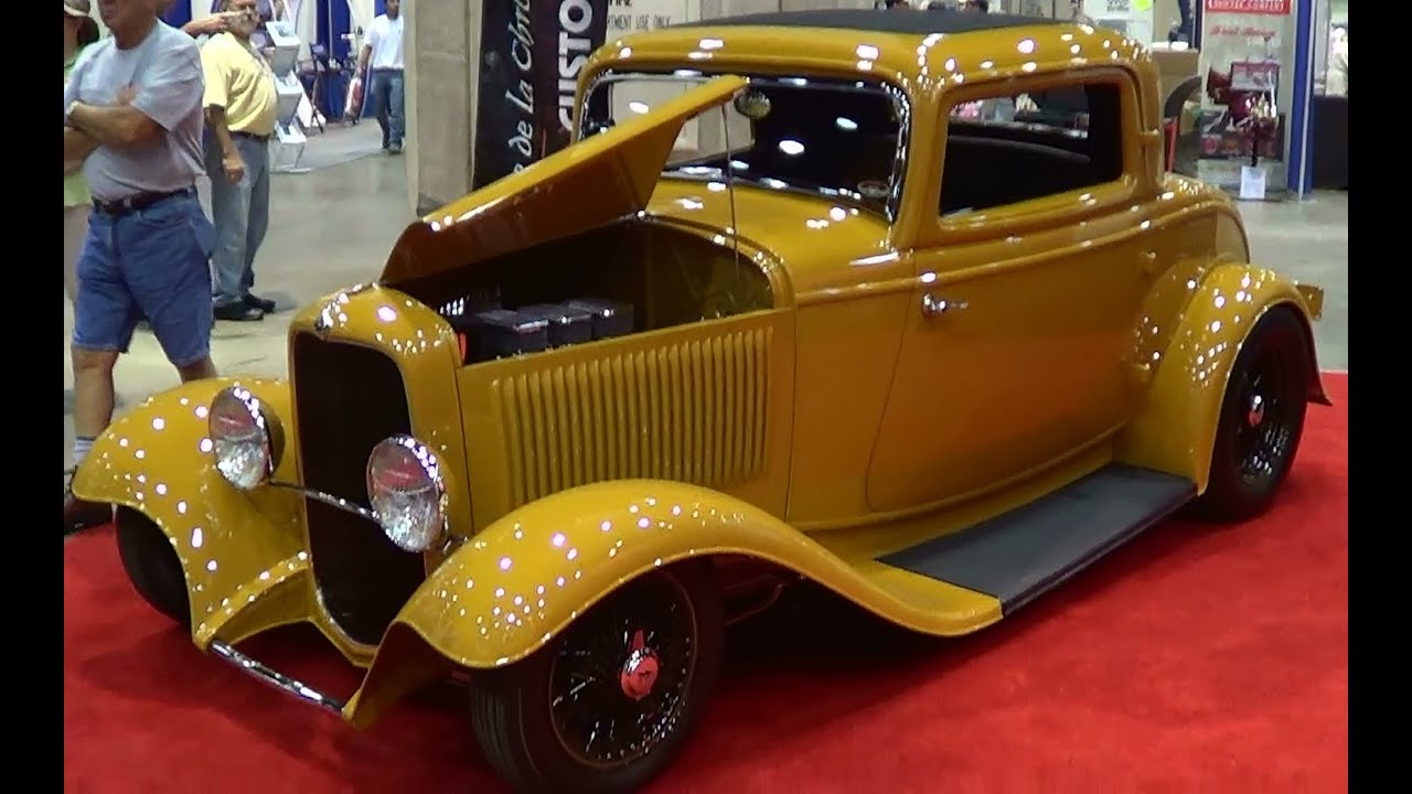 1932 Ford 3 Window Coupe Street Rod - YouTube