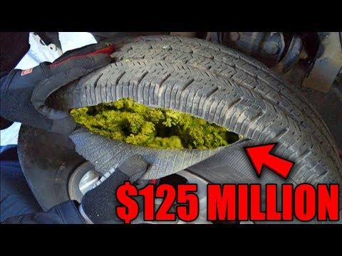 Top 10 CRAZIEST Ways Drug Dealers Smuggle Drugs!
