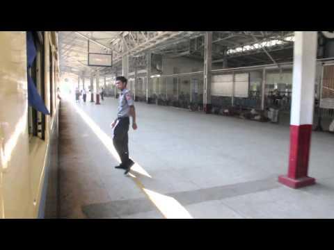 Myanmar - Train from Yangon to Bagan