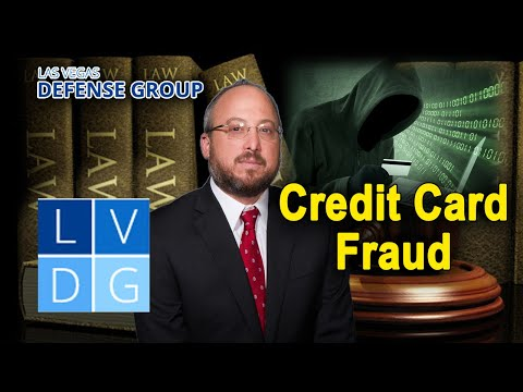 "What happens if I'm arrested for ""credit card fraud"" in Nevada? (NRS 205.760)"
