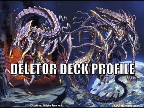 cardfight vanguard link joker deletor deck profile youtube