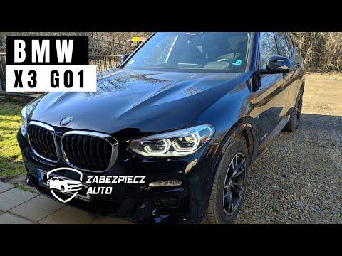 BMW X3 G01 2018r skuteczne zabezpieczenie przed kradzieżą na walizkę