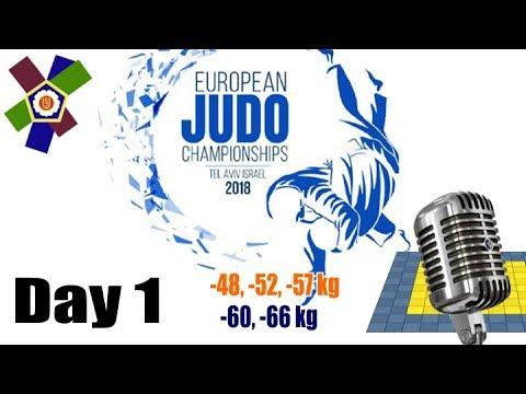 European Judo Championships 2018: Day 1