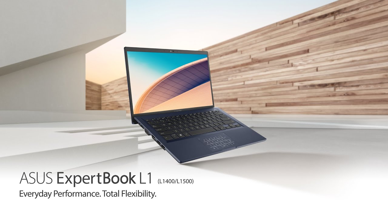 Everyday Performance. Total Flexibility - ExpertBook L1 | ASUS - YouTube