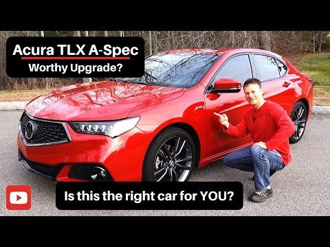 2019 Acura TLX A-Spec Car Review - Worthy upgrade to the Honda Accord?