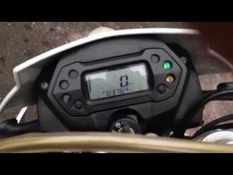 Generic TR 125 Walkaround + Stock Exhaust Sound Raw (No Music)